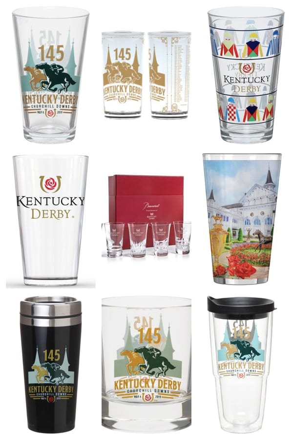 Kentucky Derby Glassware