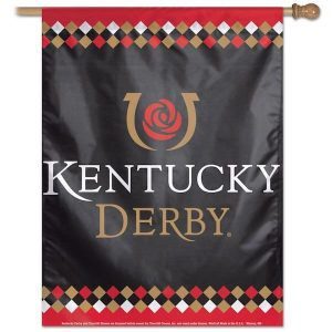 Kentucky Derby Single-Sided Vertical Banner