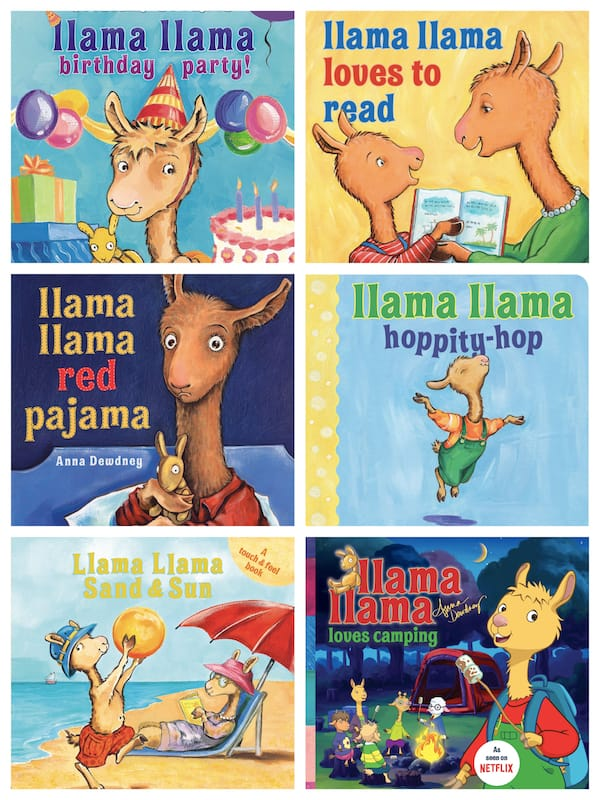 Llama Llama Books by Anna Dewdney