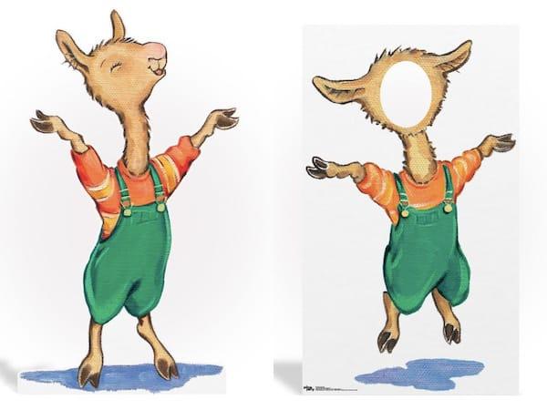Llama Llama Partyrama Life Size Standees