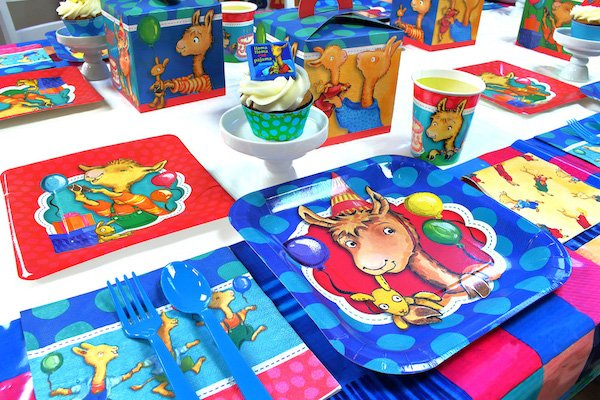 Llama Llama Partyrama Party Paper Goods