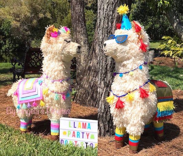 Custom Llama Pinatas
