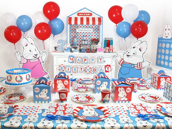 Max & Ruby Birthday Party Planning Ideas and Supplies