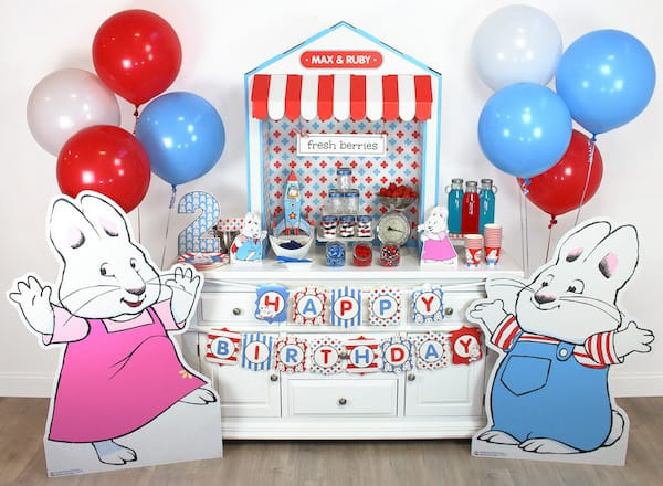 Max & Ruby-Treat Table