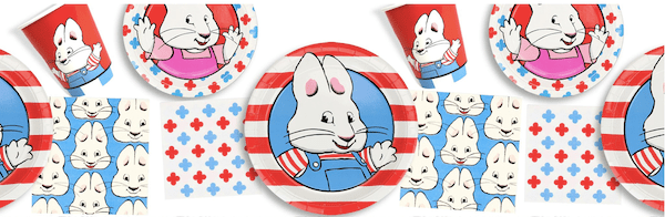 Max and Ruby Birthday Party Paper Goods
