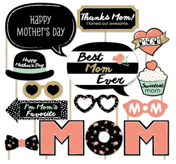 Mothers Day Photo Props