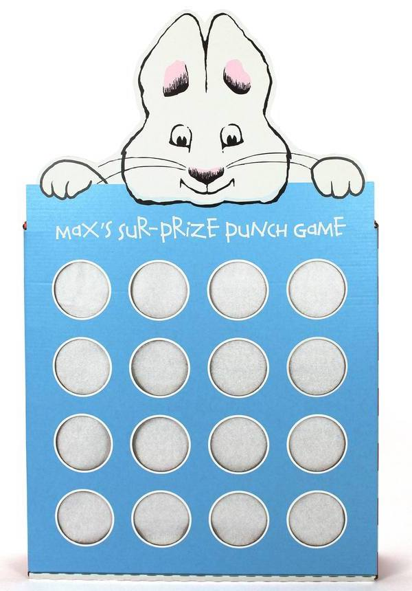 Max and Ruby Prize Punch Party Game