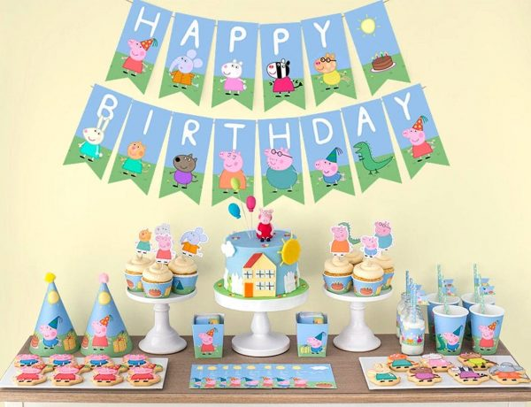 Peppa Pig Birthday Party Planning, Ideas & Supplies