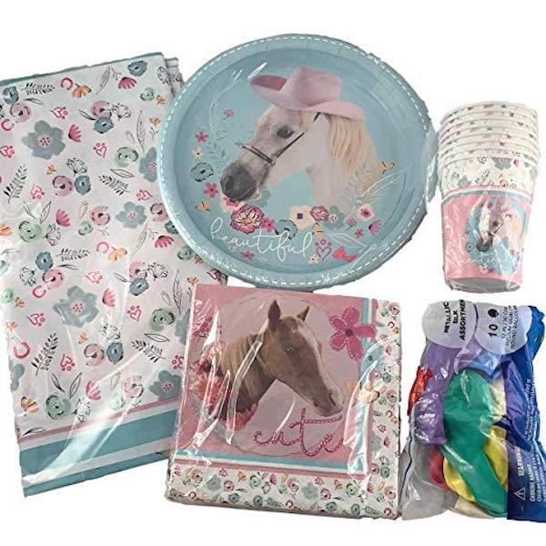 Beautiful Horse Party Supplies
