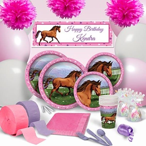 HOORAY FOR HORSES ULTIMATE PARTY Supplies