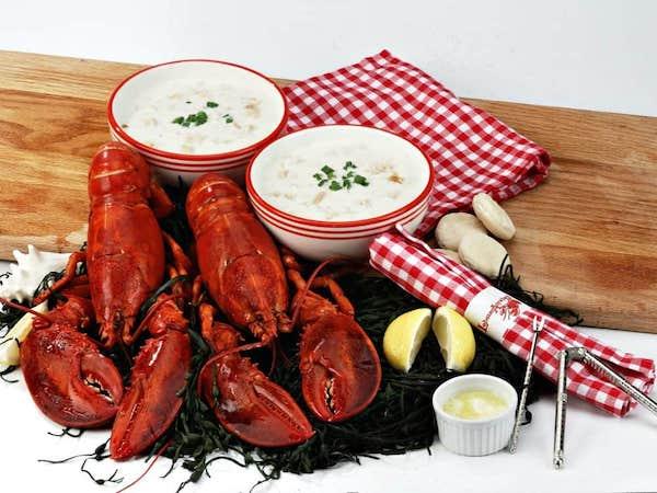 Lobster Bake Delivered