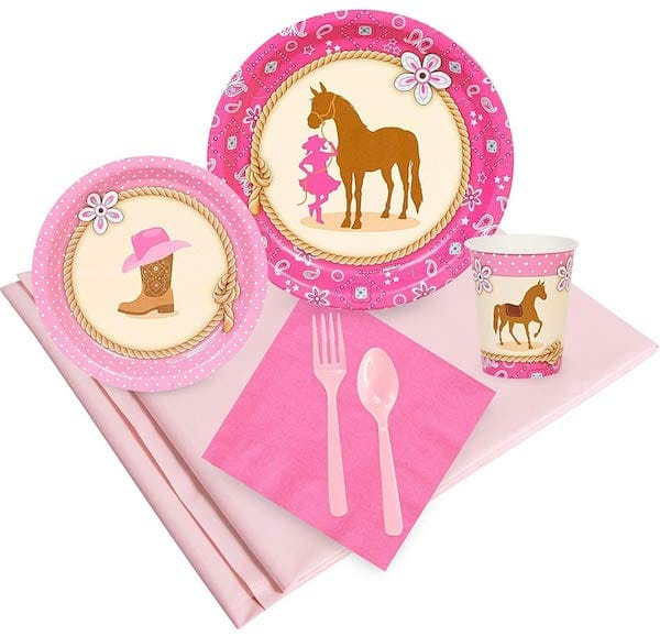 Western Cowgirl Party Supplies
