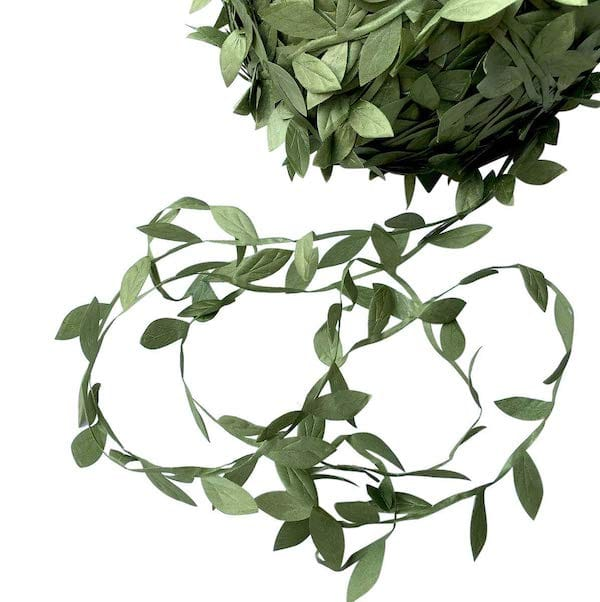 Artificial Eucalyptus Leaf Garland for Woodland and Jungle Party Decor