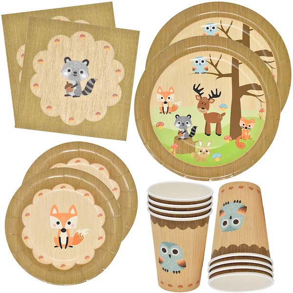 Woodland Animal Creatures Tableware