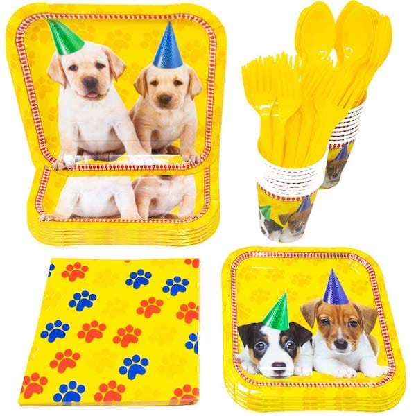 Party Like Puppies Supplies Packs