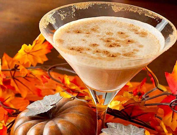 Autumn Pumpkin Martini Recipe