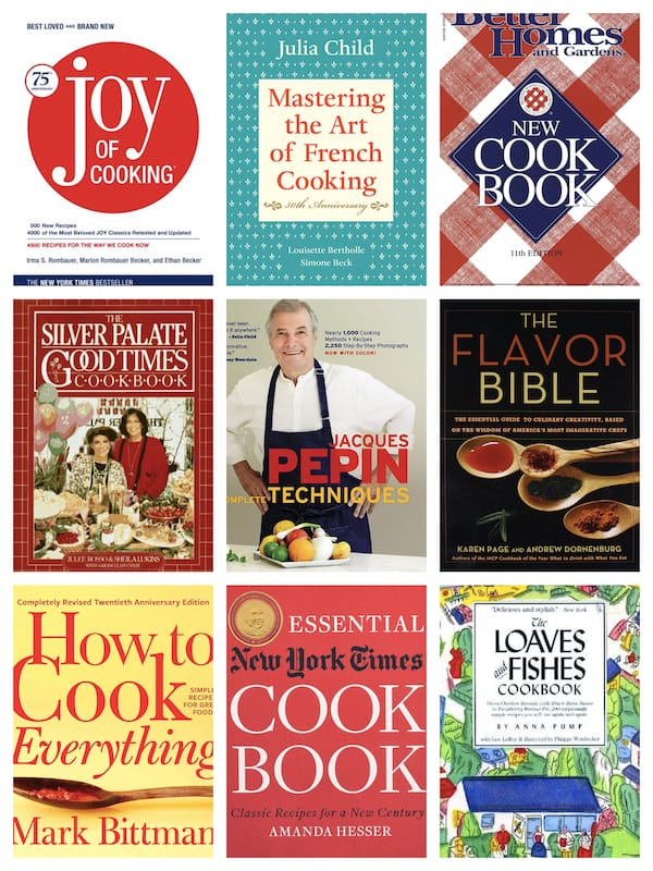 9 Must Have Cookbooks