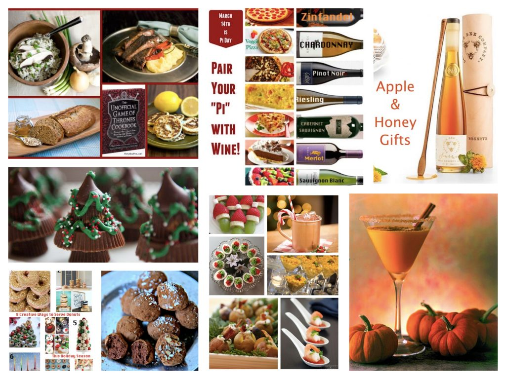 Food & Drink Menu Planning Ideas and Recipes for Entertaining