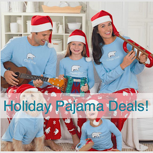 Family Matching Holiday Pajama Deals