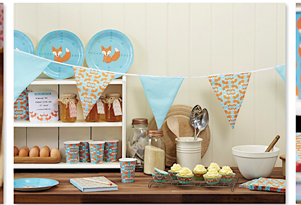 vFox Theme Party Supplies