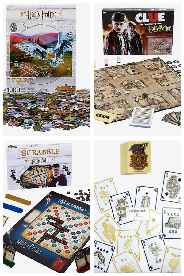Harry Potter Puzzles and Games