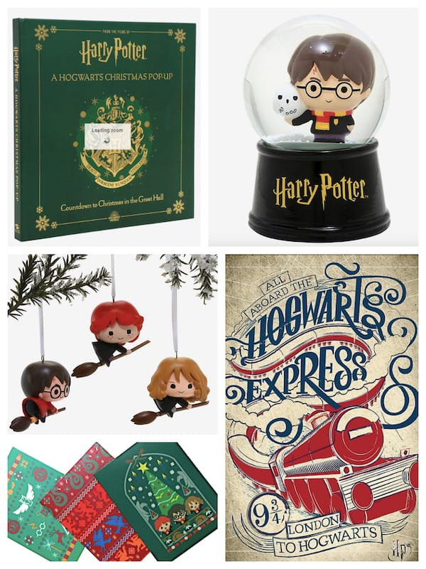 Have Yourself A Very Merry Harry Potter Christmas