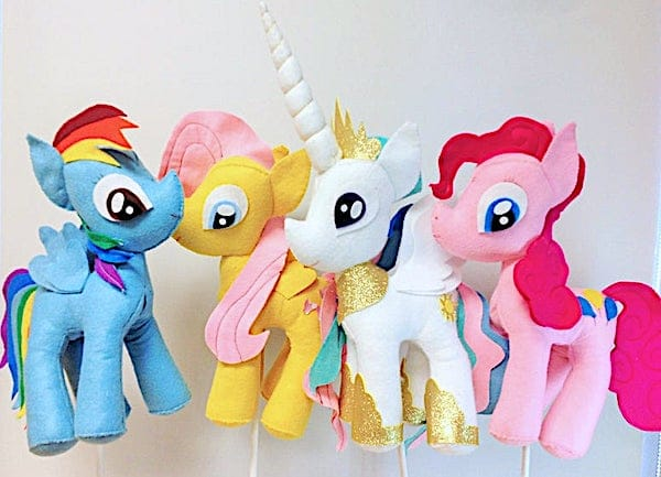 My Little Pony Felt Decoration Centerpiece