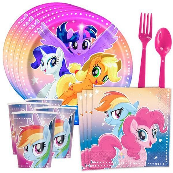 My Little Pony Flying Ponies Standard Birthday Party Tableware Kit