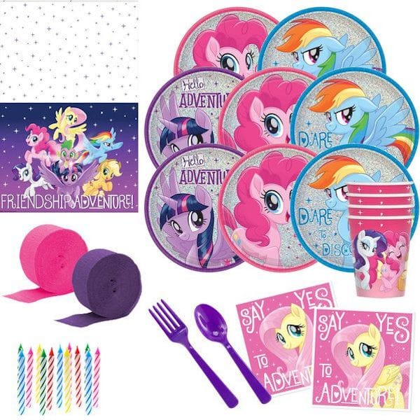My Little Pony Friendship Adventures Deluxe Party Goods
