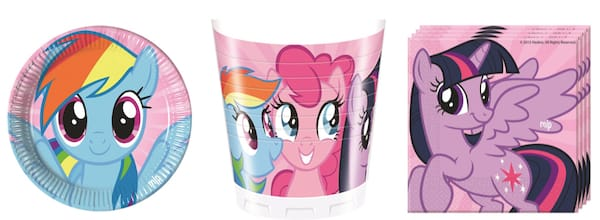 My Little Pony Paper Party Supplies
