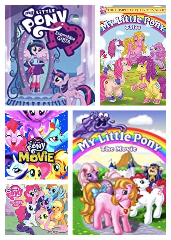 My Lttle Pony Movies and TV Series
