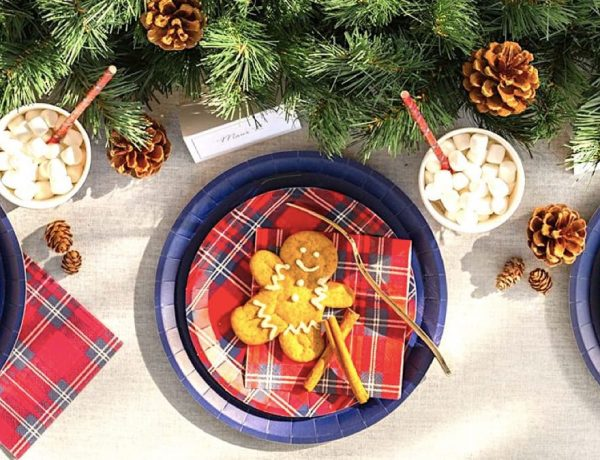 Best Holiday Party Plates & Napkins