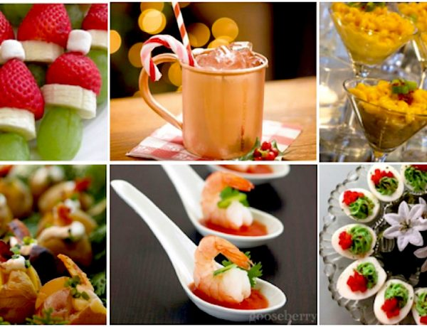Festive, Easy to Make Holiday Party Snacks