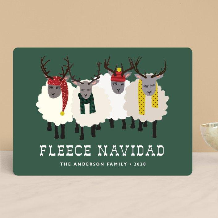 Fleece (Feliz) Navidad Christmas Card