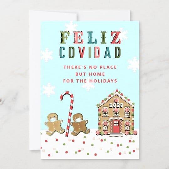 Funny Quarantine Christmas Cards