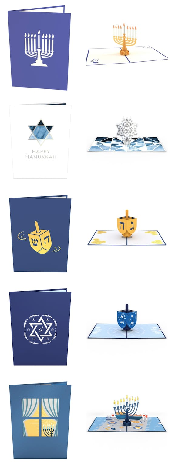 Hanukkah LovePop Cards