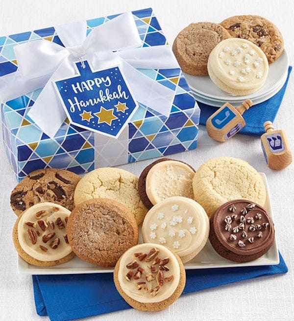 Happy Hanukkah Cookie Gift Box