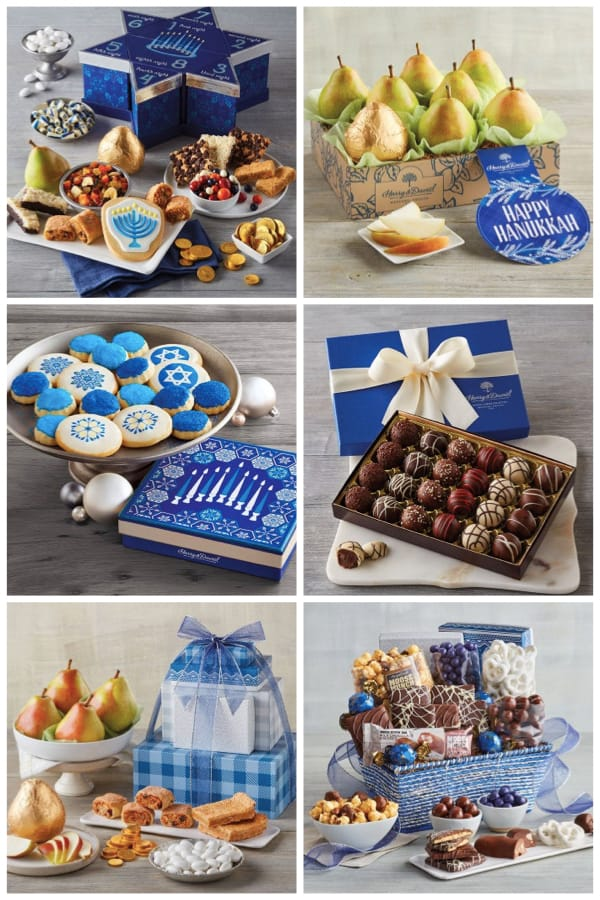 Happy Hanukkah Food Gifts
