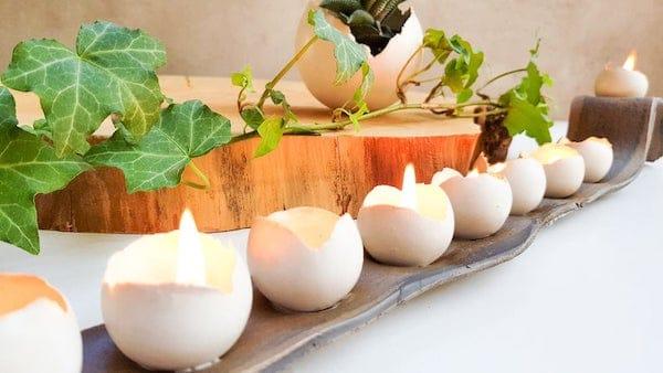 Modern Handmade Hanukkah Menorah