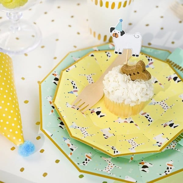 Dog Pawty Party Plates and Supplies