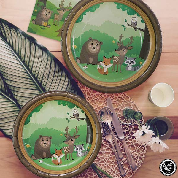 Forest Creatures Party Supplies