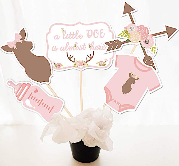 Oh Deer Party Centerpiece Sticks