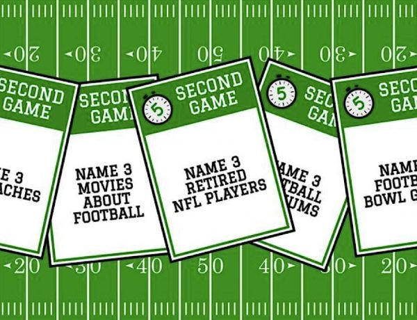 Printable Football Games