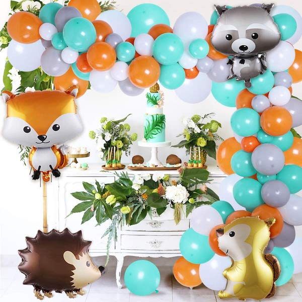 Woodland Balloon Garland Arch Kit