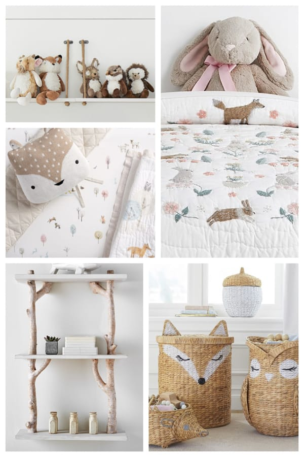 Woodland Theme Baby Nursery
