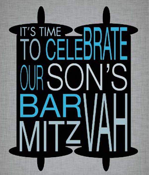 Bar Mitzvah Ceremony and Celebration Planning