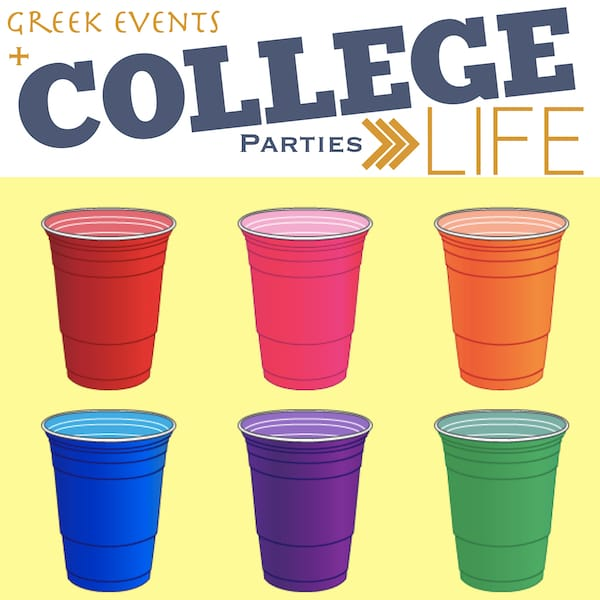 Greek Events and College Parties Planning