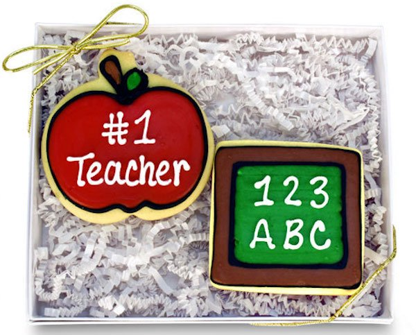 #1 Teacher Cookie Gift Box