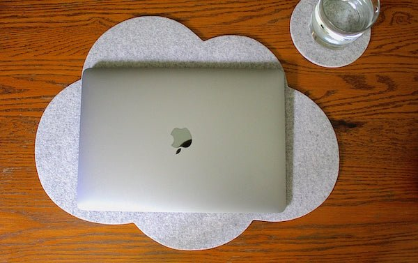 Cloud Laptop Desk Pad