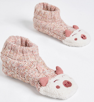 Furry Friend Slipper Socks